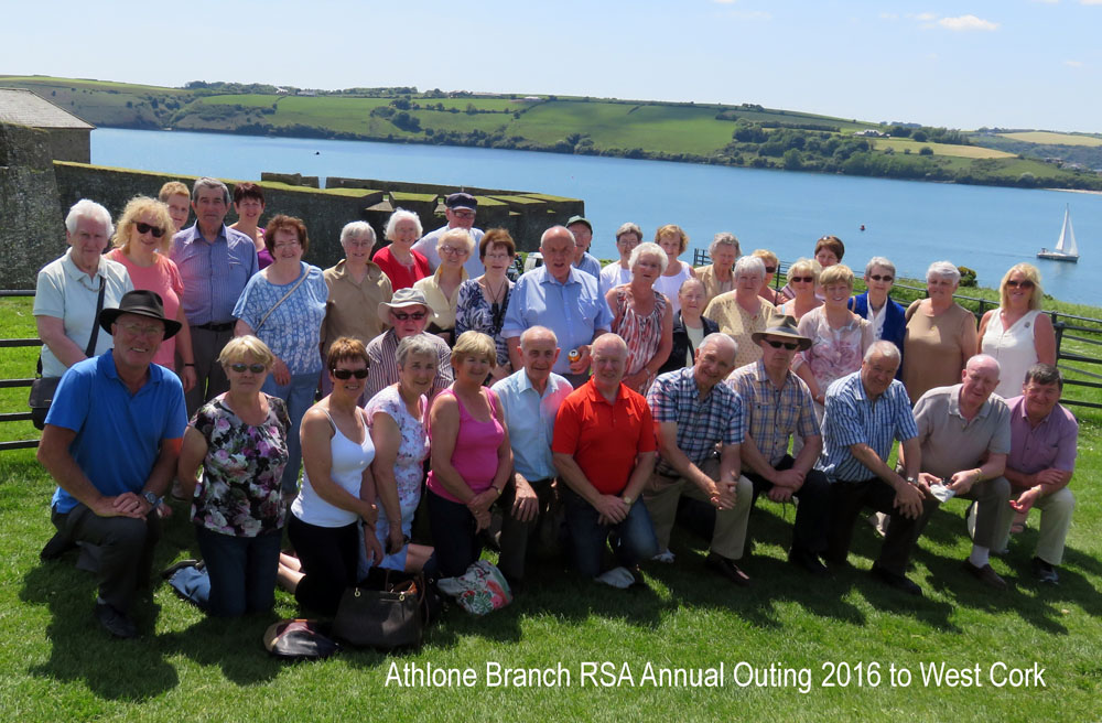 Athlone Branch Tour 2016